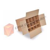 10 Caixas De Papelão P  12 Garrafas C divisória  Vinhos