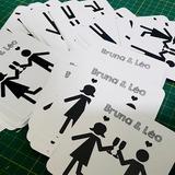 1000 Porta Copos Personalizados  Verniz Total Frente   R$180