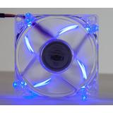 2 Cooler Fan 4 Led Azul 8cm 80mm Gabinete Ventoinha Dx 8tal