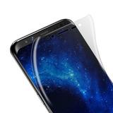 2x Películas Gel Curva Samsung S6 S7 S8 Edge Galaxy S9 Plus