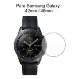 2x Películas Samsung Galaxy Watch Vidro 42mm Ou 46mm