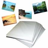 450 Fls Papel Foto Glossy 180g A4 Brilho Prova D agua oferta
