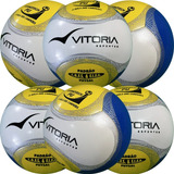 51e99145a0 6 Bolas Futsal Vitoria Oficial Adulto Max 500