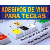 Adesivo De Vinil P teclados @@ Letras Grandes Ou Normais