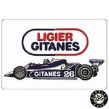 Adesivo Ligier Gitanes Js11 Jacques Laffite F1 Formula 1 986000e37738d
