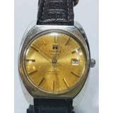 13ce2e3fd15 Antigo Relógio De Pulso Suíço Marca Tissot sea Star Masc