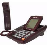 Aparelho De Telefone C  Fio Id Viva Voz Bina Maxtel Mt 129