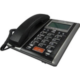 Aparelho Telefone C  Fio Id Viva Voz Mt 149 Preto Maxtel