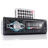 Auto Rádio Som Automotivo Bluetooth Mp3 Player Usb Controle