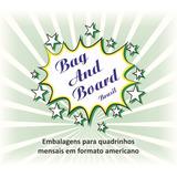 Bag And Board Para Quadrinhos Em Formato Amer  C  100 Unid