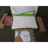 Balança Wii Fit Balance Board Completa   Caixa E Manuais