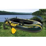 Barco Bote Inflável Seahawk 2 P  2 Pessoas   200kg Intex