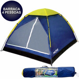 Barraca Camping Tenda Iglu 4 Pessoas Mor Praia Acampamento