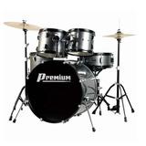 Bateria Musical Acústica Premium Dx 722 Sl Chumbo Completa