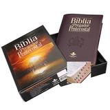 Bíblia Do Pregador Pentecostal Vinho  índice teologia caixa