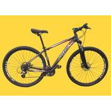 Bicicleta 29 Mtb 24v Freio Hidraulico Cambio Shimano  brinde