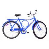 Bicicleta Aro 26 Monark Freio Varão Barra Circular    52937
