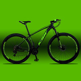 Bicicleta Ksw Xlt 29 Cambios Shimano 21v C pedivela Aluminio