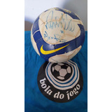 Bola Oficial Nike Autografada Jogo Do Corinthians X Grêmio 5a1c9c963ba1e