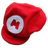 Boné Boina Chapéu Super Mario Bros Para Bebê P M G 85001a0d63e