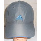 Boné Oficial adidas Cinza Azul Tamanho Único Com Regulagem 040d72f409798