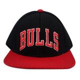 Boné adidas Chicago Bulls Nba Preto vermelho Ab3935 Aba Reta b8926f3cc8a