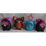 Bonecos Coleção Furby Mc Donald s 1 Pelúcia  lote Com 4 A94