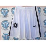 Botafogo Bermuda Short Calção Usada Jogo 2015 G Zerada Puma 2065527eb1ff3