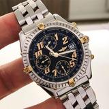 a803396a53d Breitling Chronomat Ouro   Aço 40mm Impecável