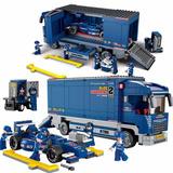 Brinquedo De Montar Formula 1 Carro Caminhão 641 Pc Educativ