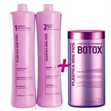 Btox Control 1 Kg   O Kit Plastica Dos Fios   Alisa Afro