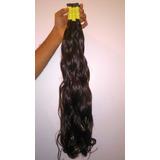 Cabelo Humano Liso Ondulado75 A 80cm 50gr  cabelo Virgem