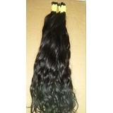 Cabelo Humano Natural P mega Hair60 65cm 50gr cabelo Virgem
