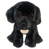 Cachorro De Pelúcia   Labrador Preto   19cm De Altura