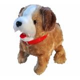 Cachorro De Pelúcia Puppy Anda Late E Da Cambalhotas   Co018