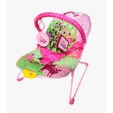 Cadeira Cadeirinha De Descanso Musical Vibratória   Rosa