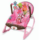 Cadeirinha Infância Sonho Rosa   Fisher price