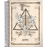 Caderno 1 4 Espiral 96fls Harry Potter