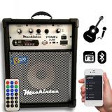 Caixa Multiuso Amplificada X150 8 Bluetooth usb sd fm cont