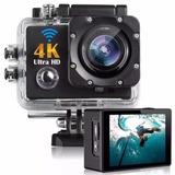 Câmera Action Go Cam Pro Ultra 4k Sport Wi fi Hd Prova Dágua