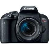 Camera Dslr Canon T7i 18 55mm Is Stm Lançamento Wifi