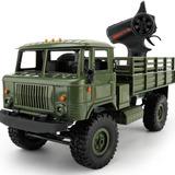 Caminhão Militar Off road 1 16 2 4ghz Com Led