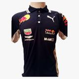 Camisa Camiseta Polo Formula 1 F1 Red Bull Corrida ba8bab432e0