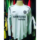 20619cf112cca Times Ingleses   Camisa Chelsea Mangas