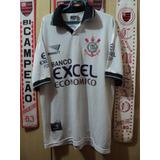 Camisa Corinthians Penalty Banco Excel Economico b7c8b668b22e8