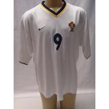 Camisa De Futebol Seleção Portugal 2000 2002 Nike 9 Pauleta 35f570af99d1f