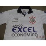 Camisa Do Corinthians 1997 Oficial Penalty Banco Excel P e0780efc97e5c