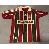 943e9fce1f Camisa Fluminense 2008 2009 Home adidas Tamanho  12 Anos
