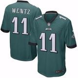 Camisa Futebol Americano Nfl Eagles Wentz Sproles 7ccc9dc7c55ad