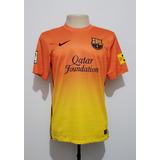 b79104fcec66d Camisa Futebol Oficial Barcelona Espanha 2012 Away Nike P